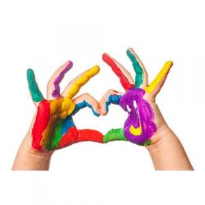 Vopsea pentru pictura cu degetele - MAXI4