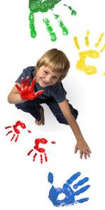 Vopsea pentru pictura cu degetele - MAXI1