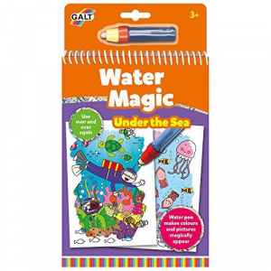 Water Magic: Carte de colorat Lumea acvatica3