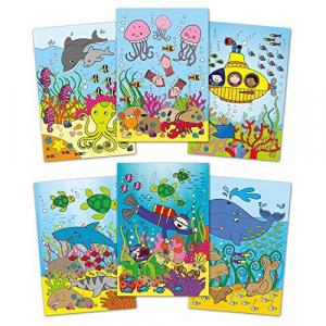 Water Magic: Carte de colorat Lumea acvatica1