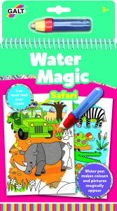 Water Magic: Carte de colorat Safari0
