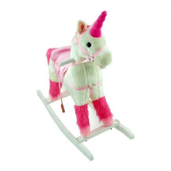 Balansoar de plus NEFERE Calut Unicorn Alb 3