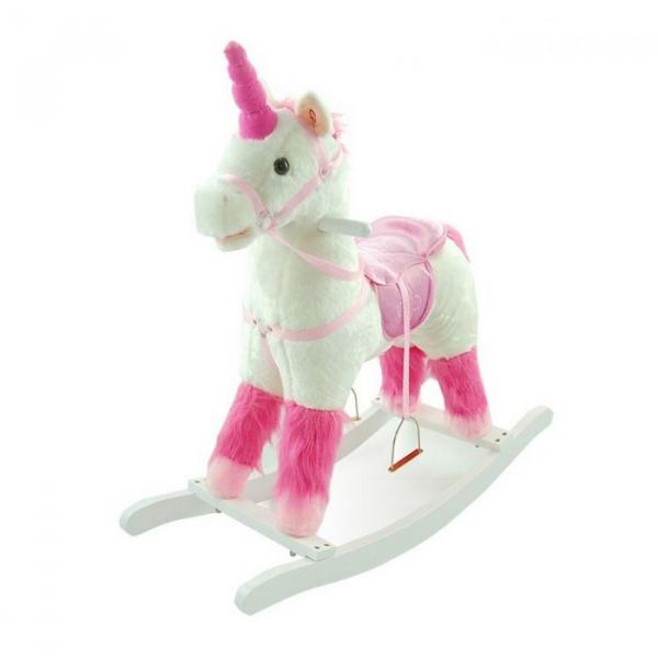Balansoar de plus NEFERE Calut Unicorn Alb 0
