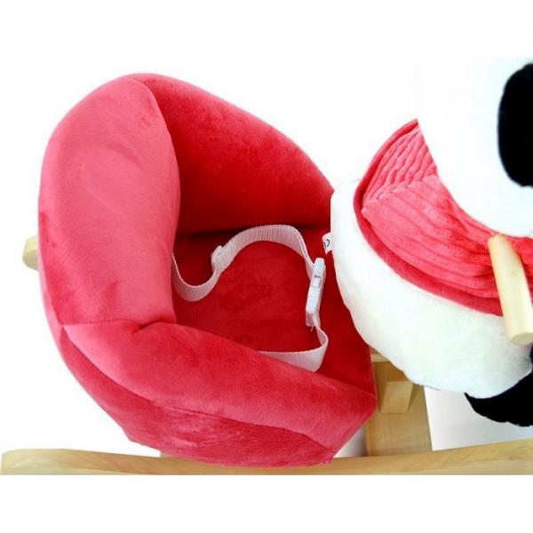 Balansoar de plus NEFERE Panda Pink 2
