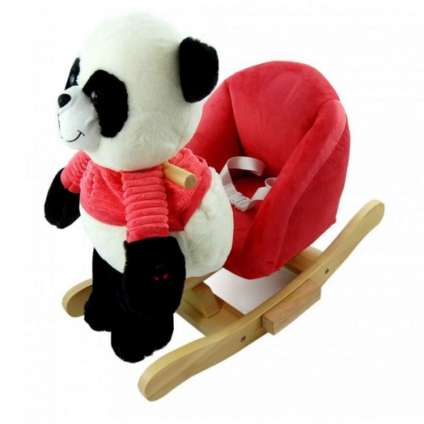 Balansoar de plus NEFERE Panda Pink 0