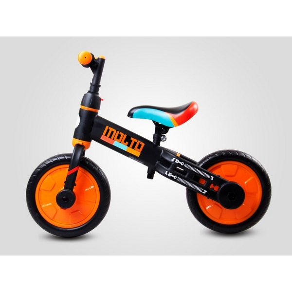 Bicicleta cu sau fara pedale si roti ajutatoare Sun Baby Molto 014 1