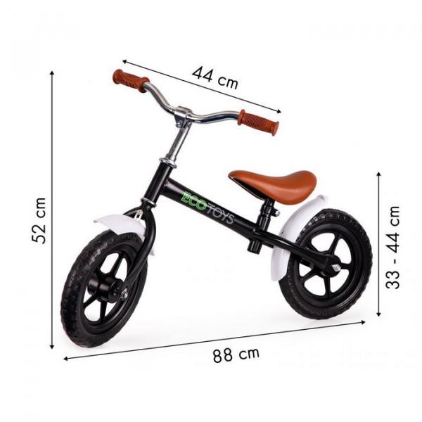 Bicicleta fara pedale cu aripi la roti Ecotoys N2004 [6]
