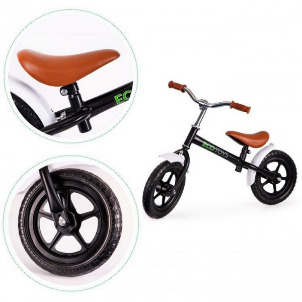 Bicicleta fara pedale cu aripi la roti Ecotoys N2004 [5]