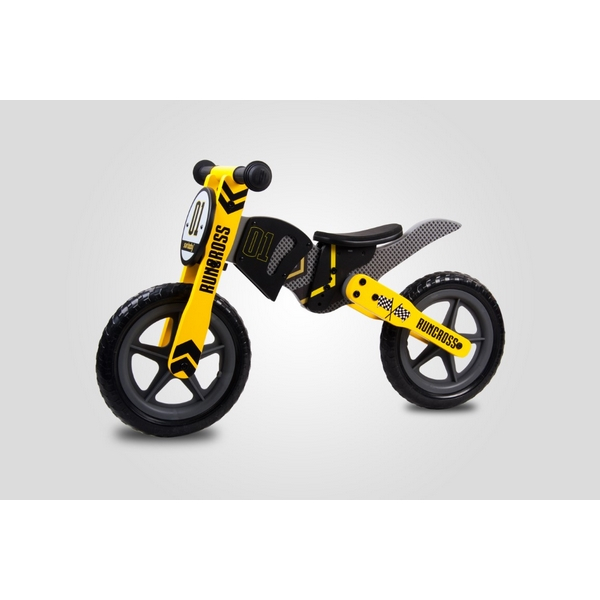 Bicicleta fara pedale din lemn Sun Baby 005 RunCross 3
