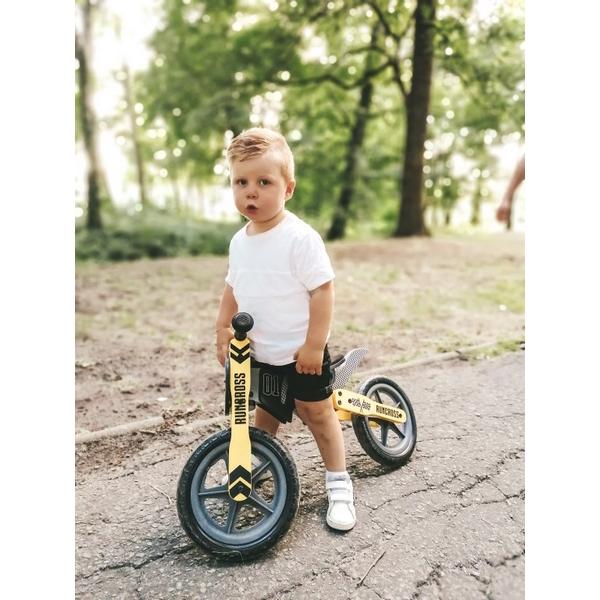 Bicicleta fara pedale din lemn Sun Baby 005 RunCross 7