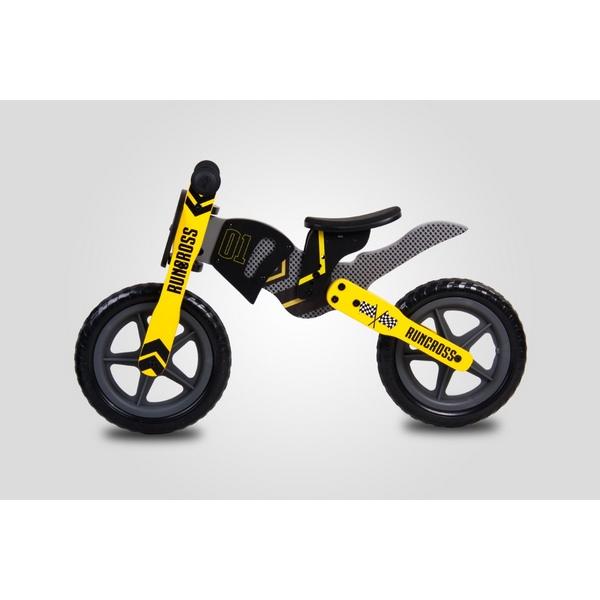 Bicicleta fara pedale din lemn Sun Baby 005 RunCross 5