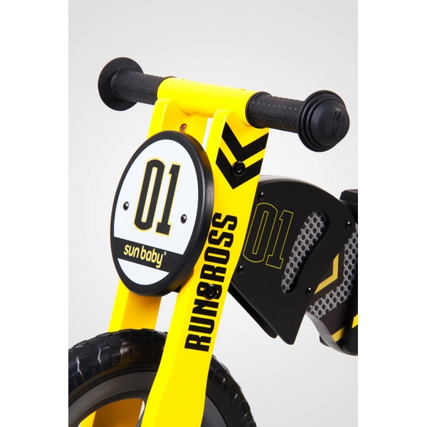 Bicicleta fara pedale din lemn Sun Baby 005 RunCross 1