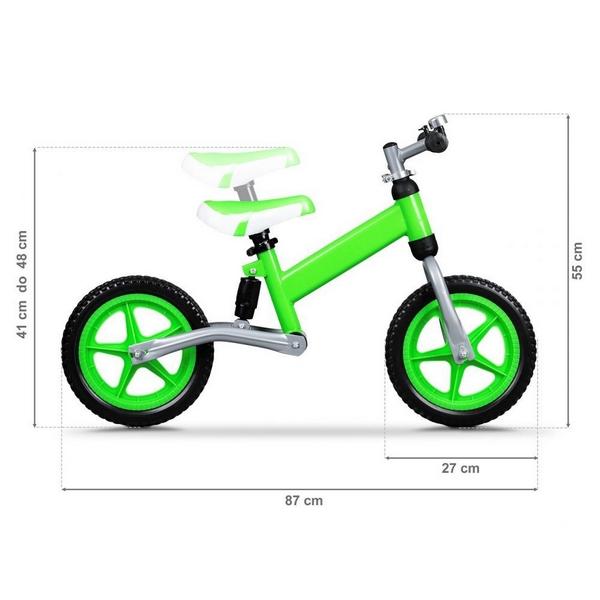 Bicicleta fara pedale ECOTOYS BW-1144 – Verde 3