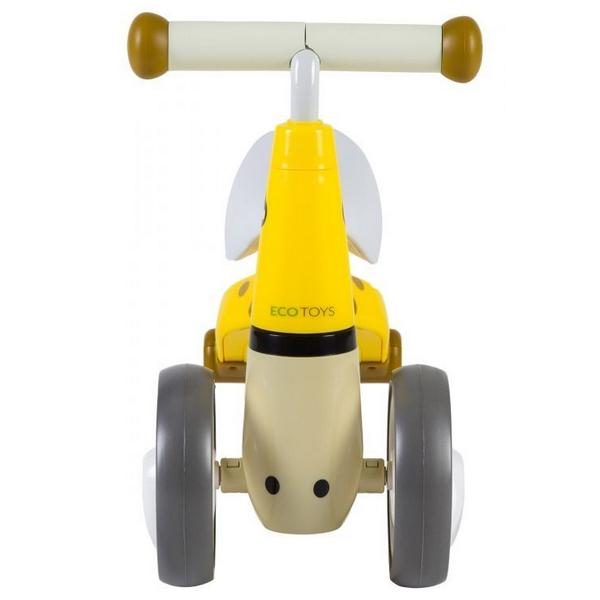 Bicicleta fara pedale Ecotoys LB1603 - Galben 4
