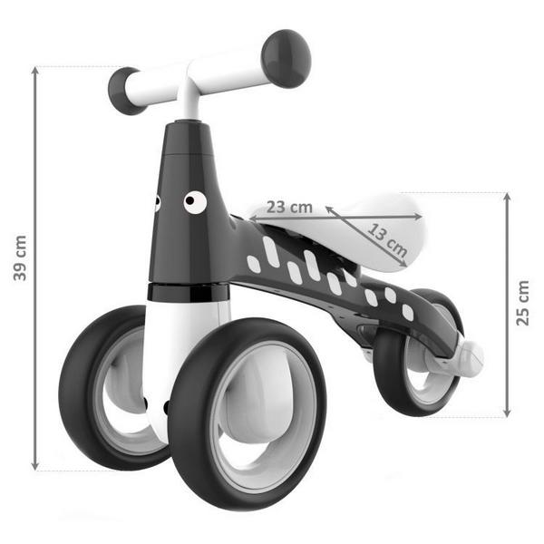 Bicicleta fara pedale Ecotoys LB1603 – Negru [0]