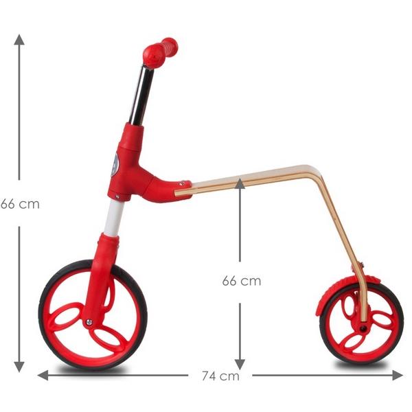 Bicicleta fara pedale/trotineta Sun Baby 006 EVO 360 Red 9