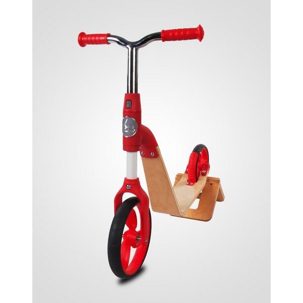 Bicicleta fara pedale/trotineta Sun Baby 006 EVO 360 Red 4