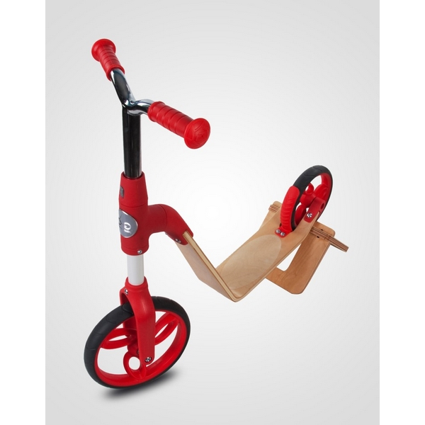 Bicicleta fara pedale/trotineta Sun Baby 006 EVO 360 Red 6