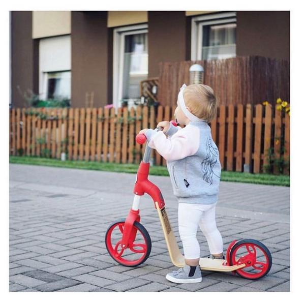 Bicicleta fara pedale/trotineta Sun Baby 006 EVO 360 Red 8