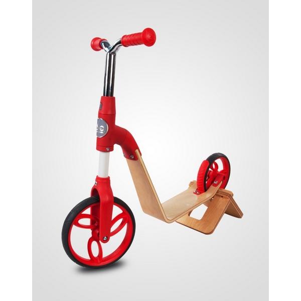 Bicicleta fara pedale/trotineta Sun Baby 006 EVO 360 Red 5