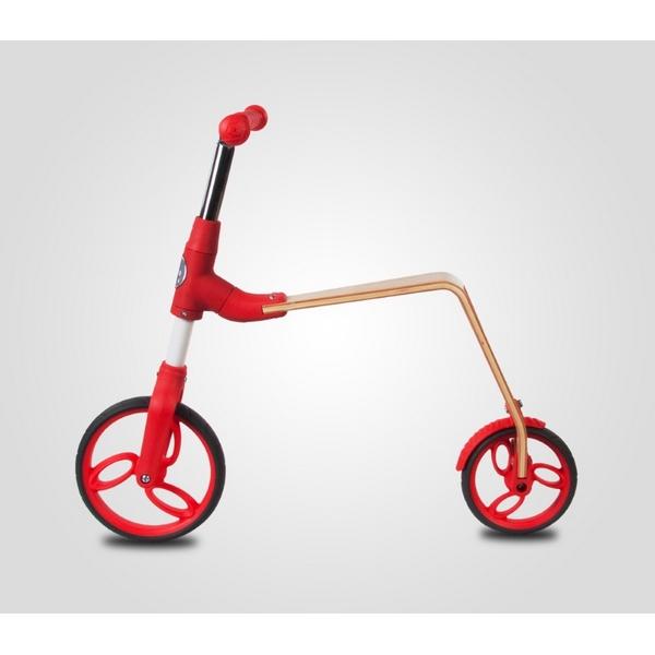 Bicicleta fara pedale/trotineta Sun Baby 006 EVO 360 Red 1
