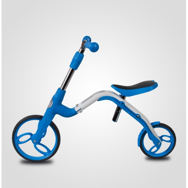 Bicicleta fara pedale/trotineta Sun Baby 007 EVO 360 PRO Blue 4