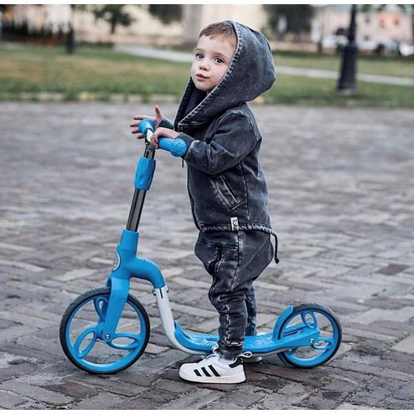 Bicicleta fara pedale/trotineta Sun Baby 007 EVO 360 PRO Blue 8