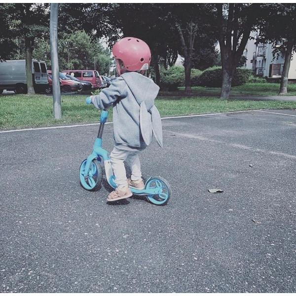 Bicicleta fara pedale/trotineta Sun Baby 007 EVO 360 PRO Blue 7