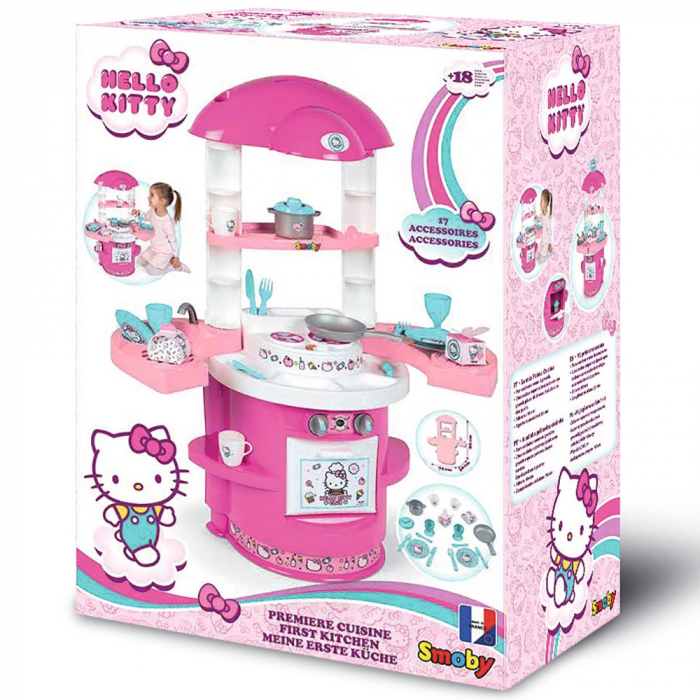 Bucatarie Smoby Hello Kitty Cooky Kitchen [5]
