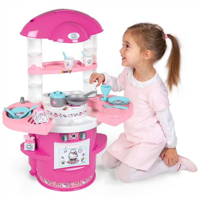 Bucatarie Smoby Hello Kitty Cooky Kitchen [4]