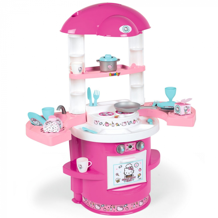 Bucatarie Smoby Hello Kitty Cooky Kitchen [1]