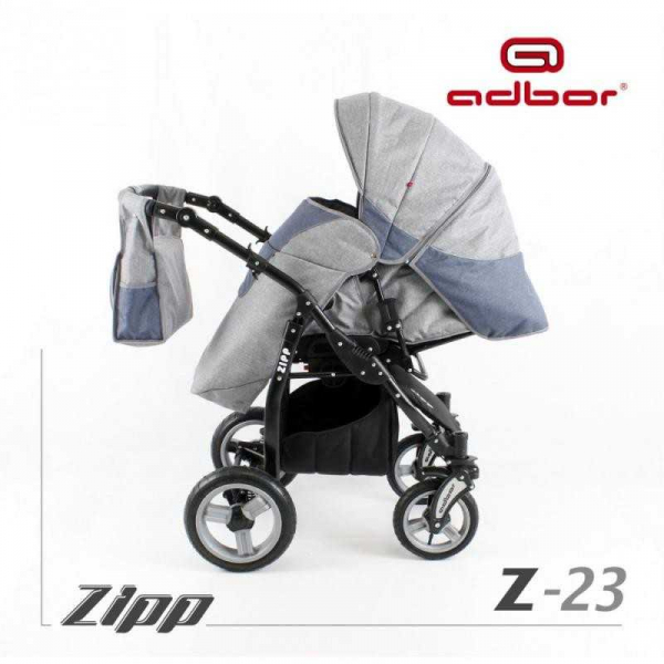 Carucior copii 3 in 1 Adbor Zipp [5]