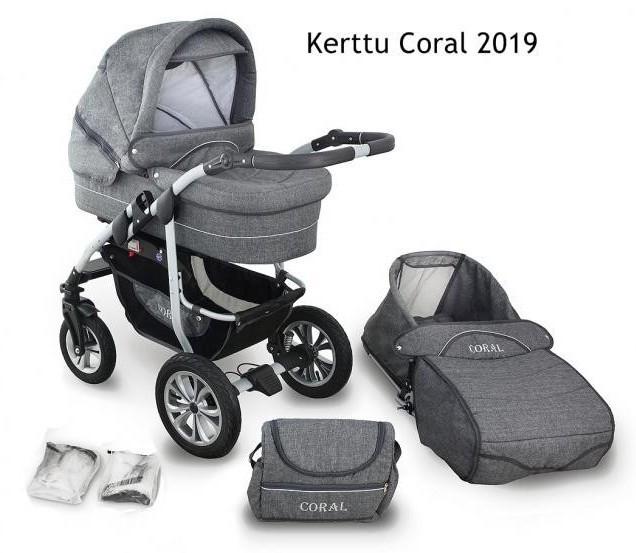 Carucior Kerttu Coral 2 in 1 - 2019 [0]