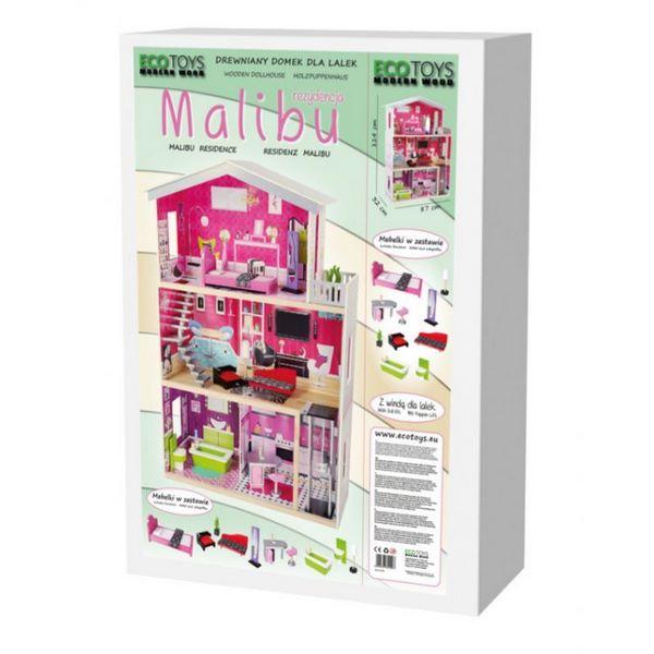 Casuta de basm Malibu Ecotoys 4118 7