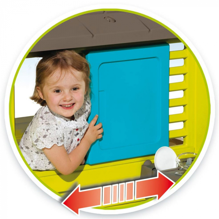 Casuta pentru copii Smoby Pretty cu bucatarie [2]
