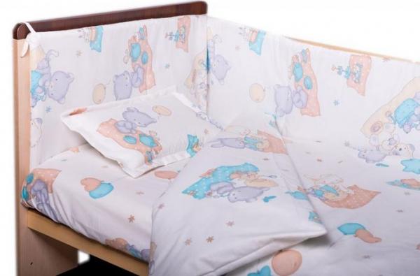 Cearceaf de pat cu elastic Amoras 100x100 3