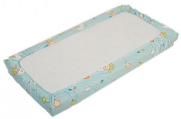 Cearceaf de pat cu elastic Amoras 100x100 0