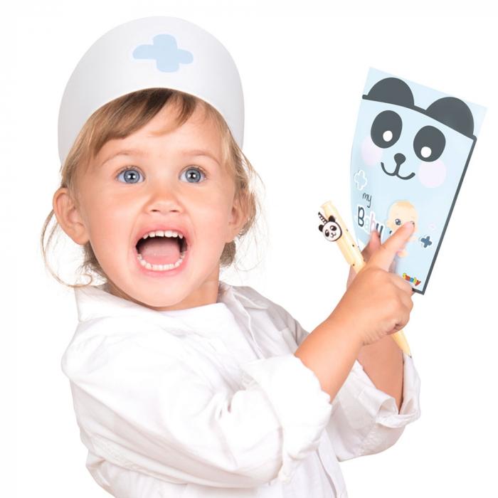 Centru de ingrijire pentru papusi Smoby Baby Care Center cu papusa si accesorii [22]