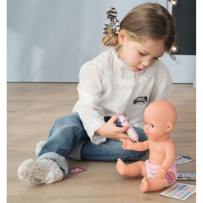 Centru de ingrijire pentru papusi Smoby Baby Care Center cu papusa si accesorii [18]