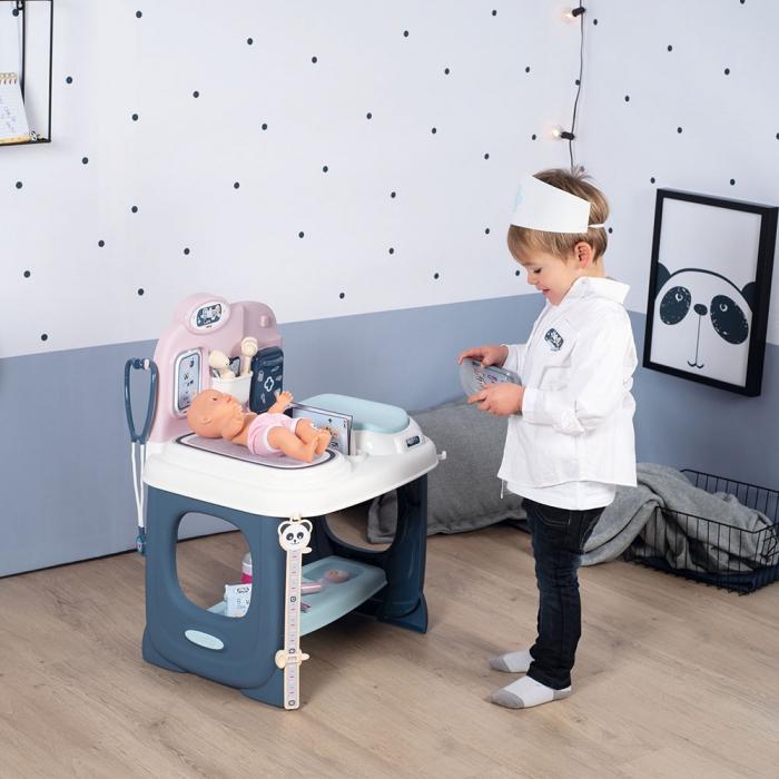Centru de ingrijire pentru papusi Smoby Baby Care Center cu papusa si accesorii [17]