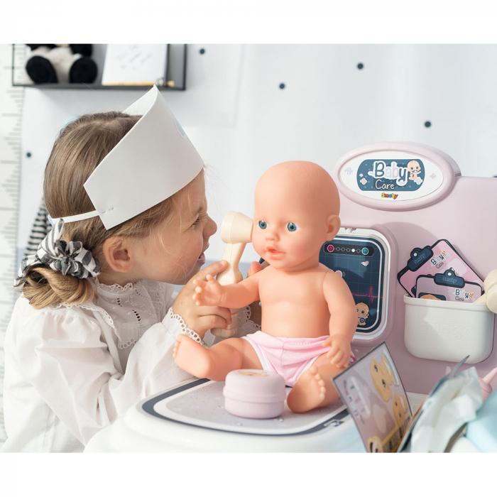 Centru de ingrijire pentru papusi Smoby Baby Care Center cu papusa si accesorii [11]