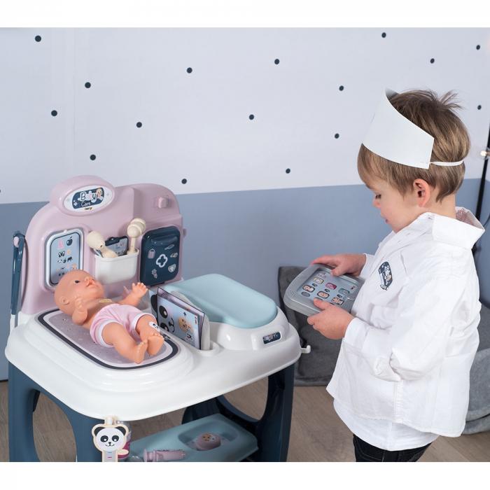 Centru de ingrijire pentru papusi Smoby Baby Care Center cu papusa si accesorii [16]