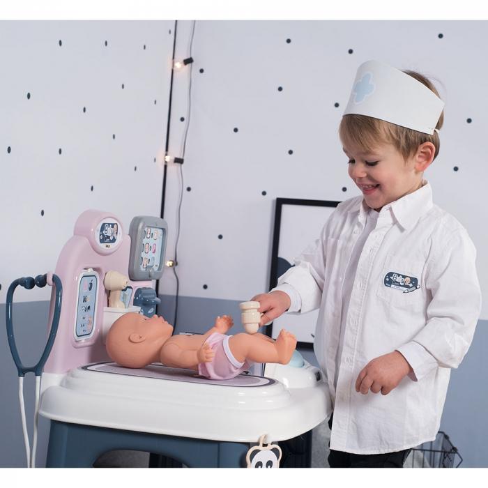 Centru de ingrijire pentru papusi Smoby Baby Care Center cu papusa si accesorii [13]