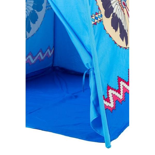 Cort de indieni 8172 Ecotoys - Albastru 2