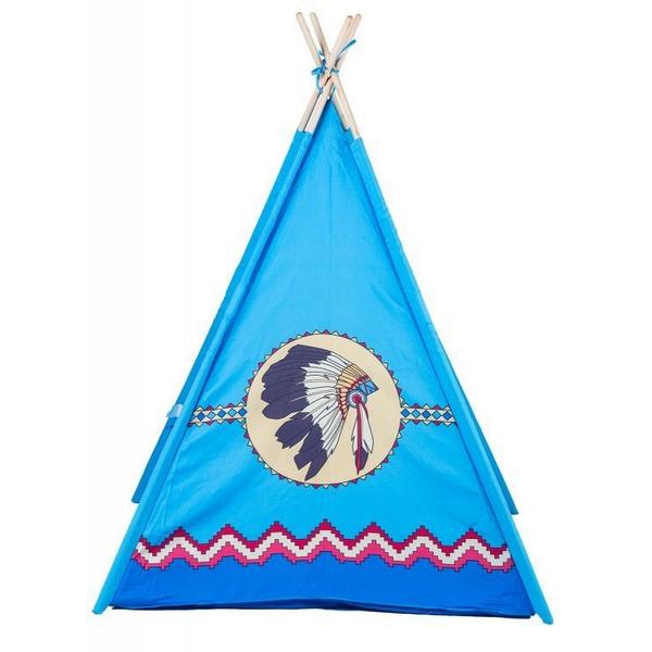 Cort de indieni 8172 Ecotoys - Albastru 1