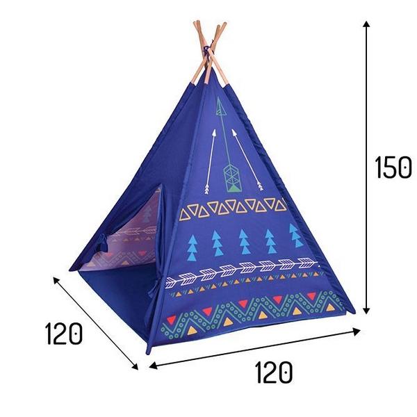 Cort de indieni 8179 Ecotoys - Violet 3