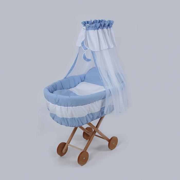 Cos bebe din rachita Ridicat Bebe Design 0