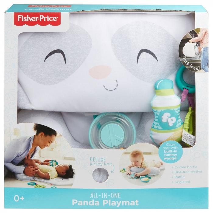 Covoras de joaca Fisher Price by Mattel Newborn Panda [4]