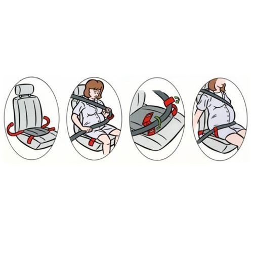 Deviator centura de siguranta auto pentru gravide cu sistem de ancorare dublu - Olmitos [3]