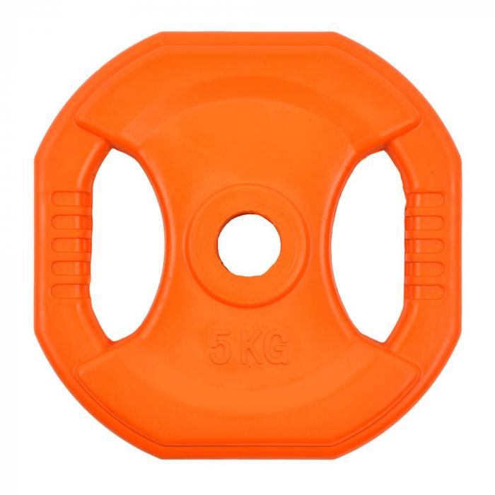 Greutate fier ergo inSPORTline Pump 5kg/30mm [0]